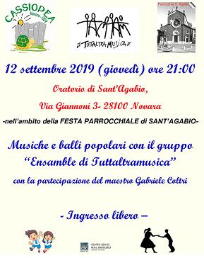 festa sant'agabio 2019 novara